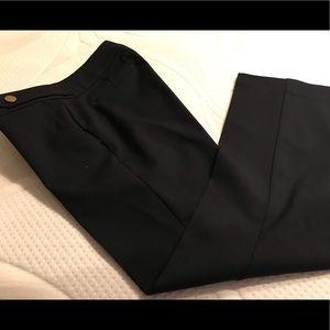 Loft navy Marisa fit trousers